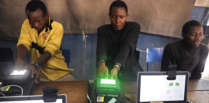 Kenyans Voting 2013