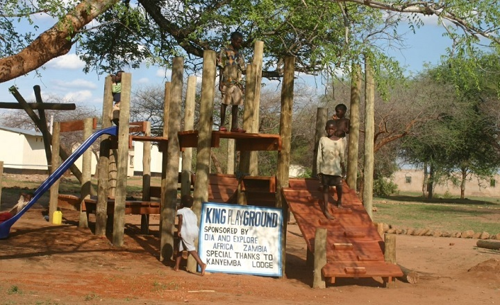 Playground in Southern Zambia