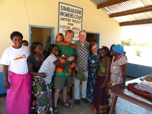richard and cb with hollwegs and group